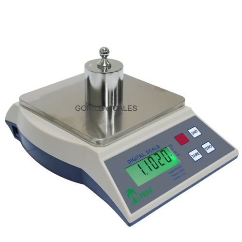 Digital Kitchen Scale 3000g x 0.1g Tree KHR-3000 Table Top Loader