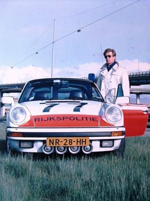 Rijkspolitie - The Netherlands - Porsche 911 Targa