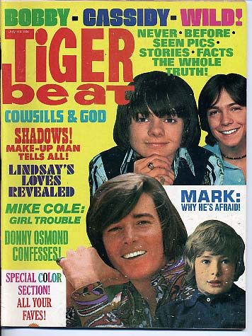 and with David Cassidy (my love) and Bobby Sherman on the cover :)  I read every issue more than once!