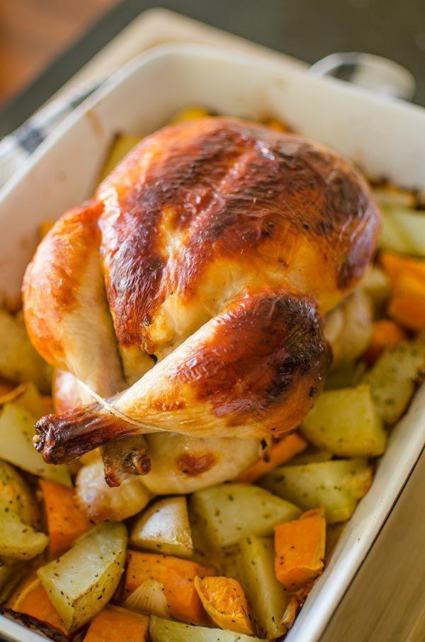 Buttermilk Roast Chicken Recipe Foood Roast Chicken Recipes Cooking Recipes Food Recipes