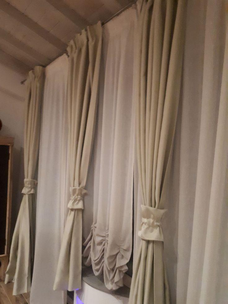 521 migliori immagini tende da interni serramenti ed avvolgibili su pinterest - Tende da camera da letto classiche ...