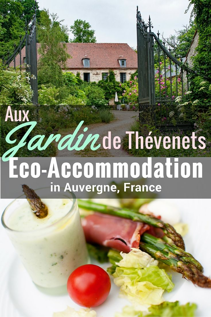 Aux Jardins de Thévenets is a tranquil, sustainable chambre d'hôtes, in Auvergne, dripping with charm and roses, only 10 minutes from Vichy, France.