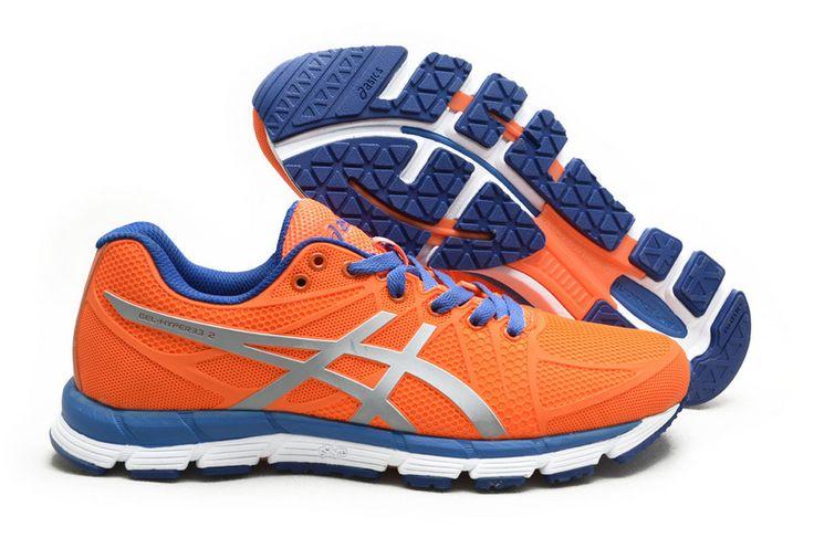 Men's Asics Gel Hyper 33 2 Running Shoes Orange/Silver