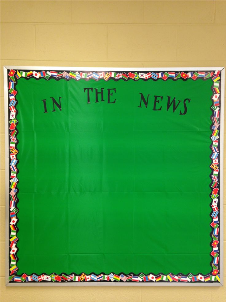2016 Current Events board