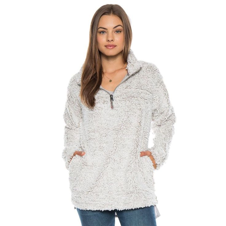 Frosty Tipped Women's Stadium Pullover in Putty by True Grit (Dylan) #amazon #Beige #cf-size-l