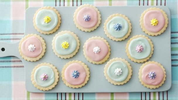 Iced biscuits |      Get the kids baking with these simple biscuits. Let their imagination run wild with the icing!