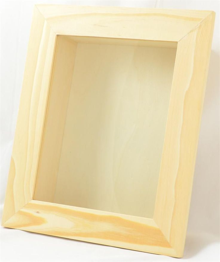 Small Wooden Shadow Box | Wood Boxes