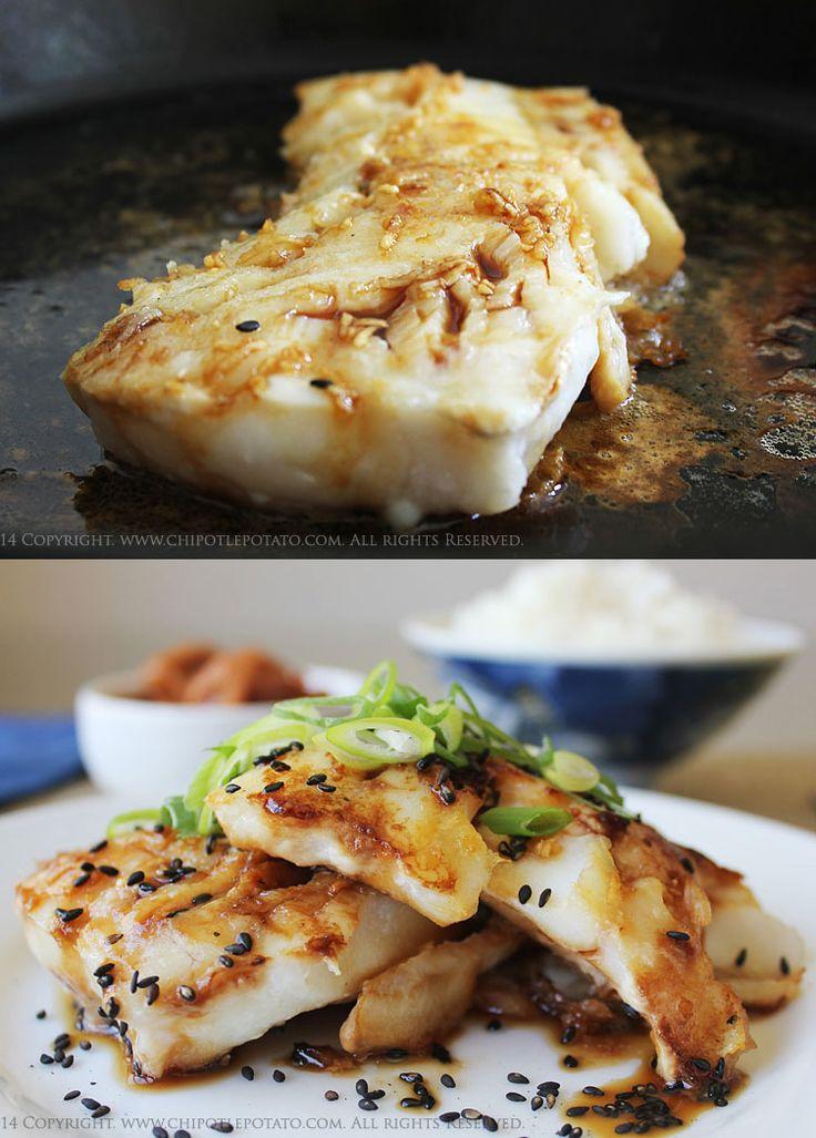 Teryaki alaskan cod asian eats pinterest fish for Recipe for cod fish