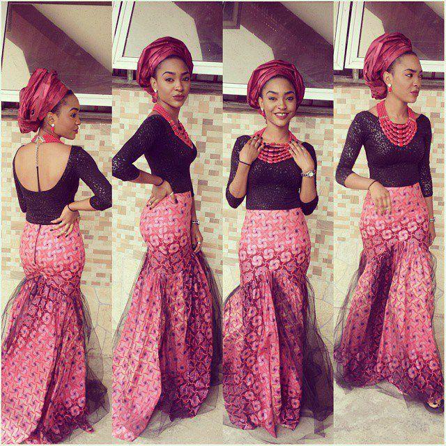 J taylor lace dress african