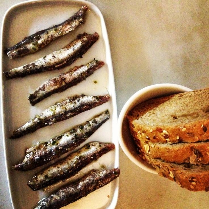 anchoas de Calabria