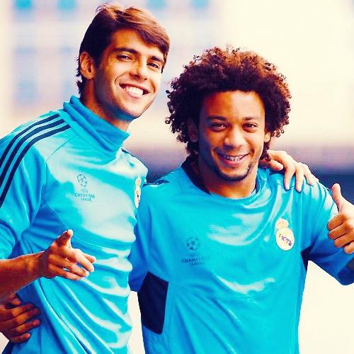 Kaka and some Marcelo sunshine