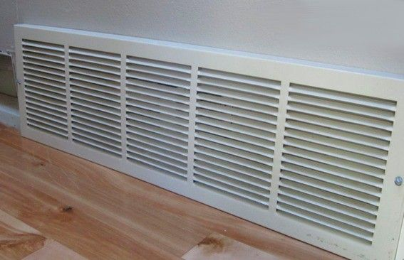 How To Make A Decorative Air Return Vent Cover Hvac Com In 2020 Air Return Return Air Vent Air Return Vent Cover