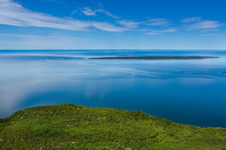 Parc national du Bic, Rimouski, Québec, Canada