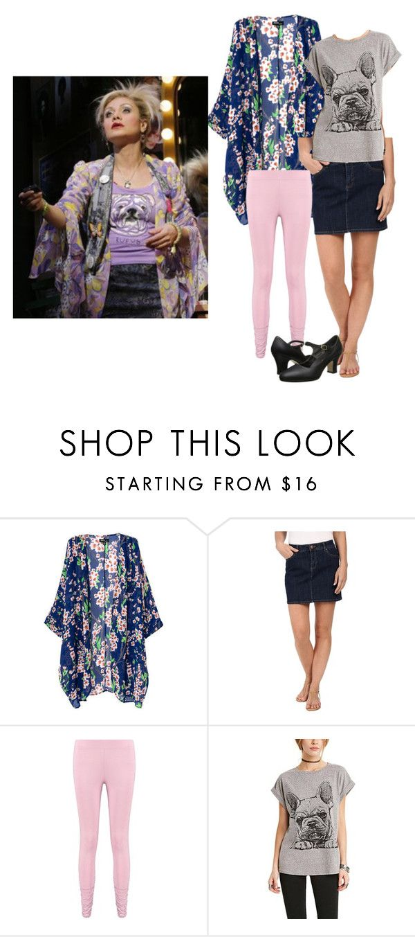 """Paulette ~ Legally Blonde Inspired Outfit"" by vidiarocks ❤ liked on Polyvore featuring DL1961 Premium Denim, Boohoo and Capezio"