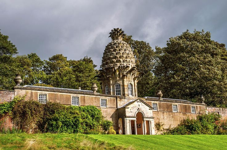 Dunmore Pineapple Building. Scotland Photograph by Jenny Rainbow