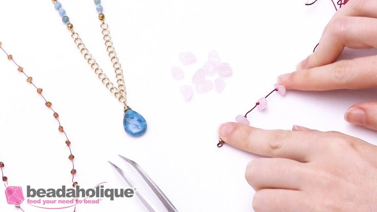 How to Do Pearl and Gemstone Knotting with Spaces Between Beads