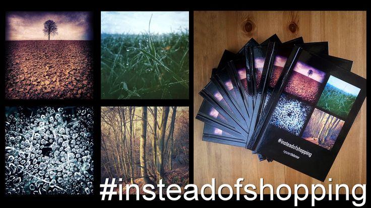 Foto książka: #insteadofshopping http://www.ryszardlebmor.com/sklep-produkt/1-Album_fotograficzny_insteadofshopping.php