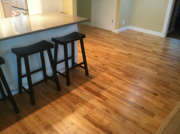 17 best images about flooring on pinterest white oak for Is it ok to put hardwood floors in a kitchen