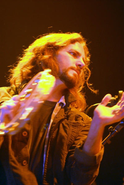 Eddie Vedder | A tambourine is who handles it - iaw size does not matter it is how you use it.