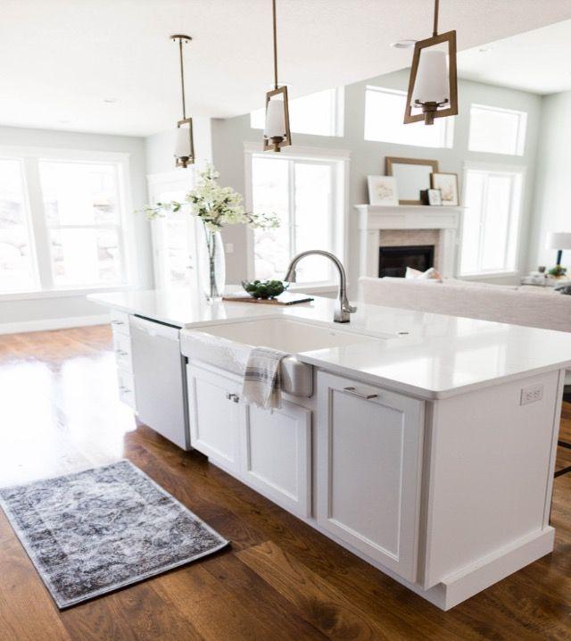 Small Open Kitchen Living Room Open Concept Kitchen Floor