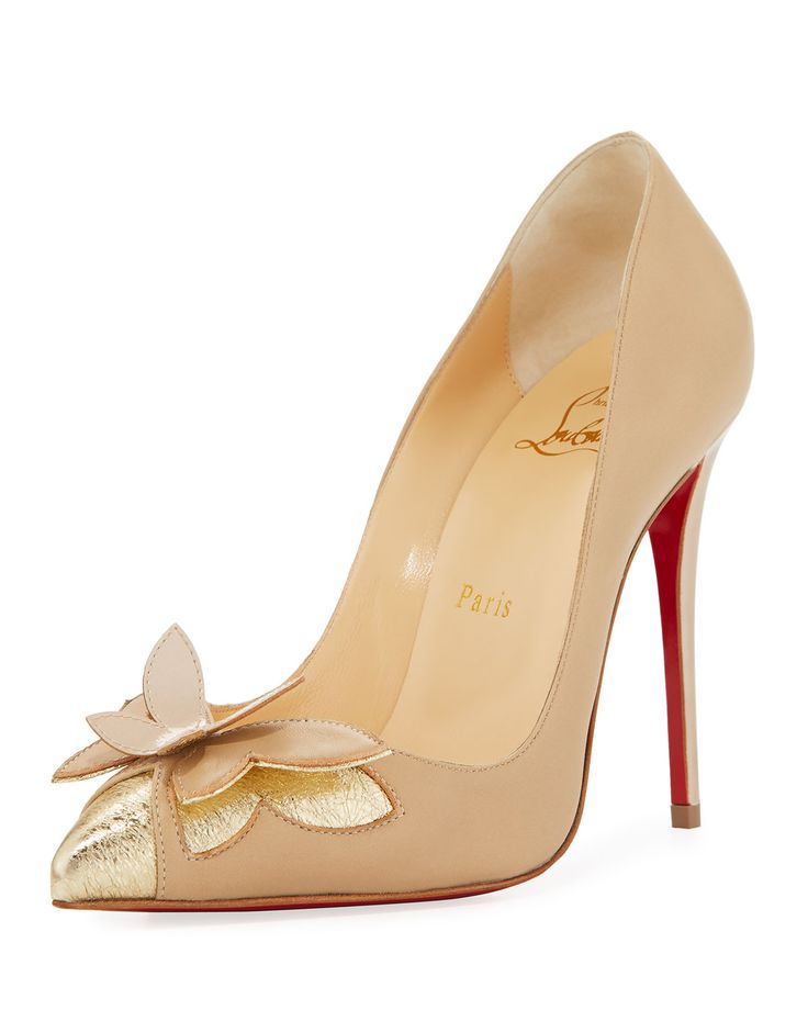 Christian Louboutin Maripop Butterfly Red Sole Pump,
