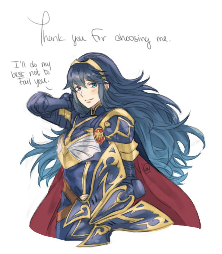 For those of us who picked Lucina for the free summon on the Brave Heroes banner~