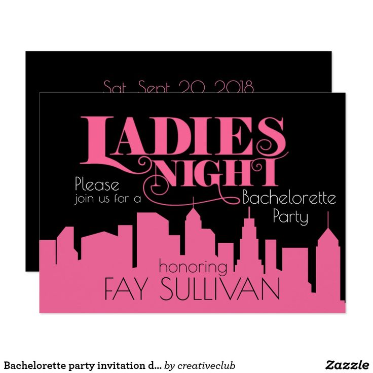 invitation wedding wording gifts%0A Bachelorette party invitation design