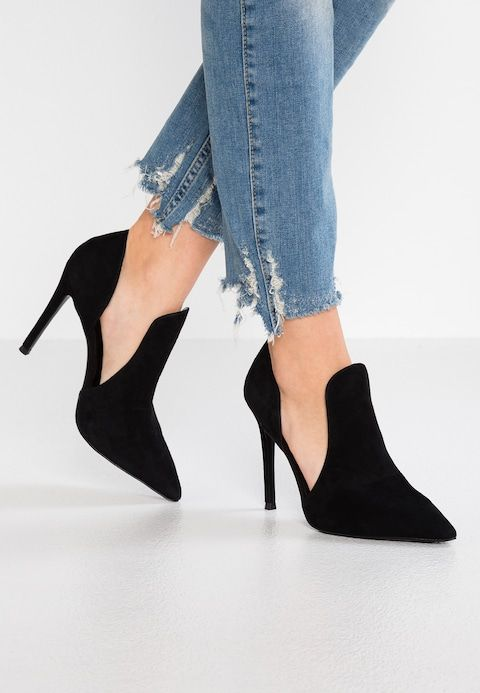 competitive price a81b2 f5da7 DANCE - High heeled ankle boots - black @ Zalando.co.uk ...