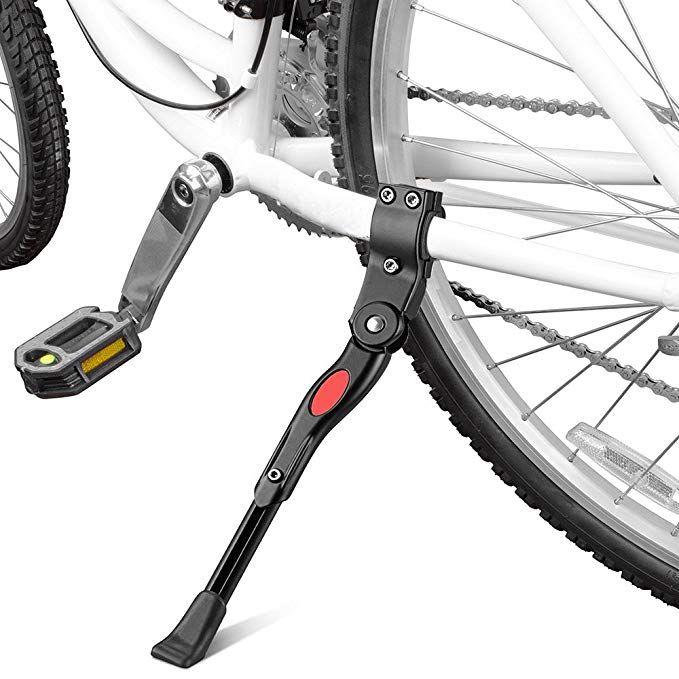 Yakamoz Bicycle Kickstand Bike Aluminium Alloy Adjustable Side