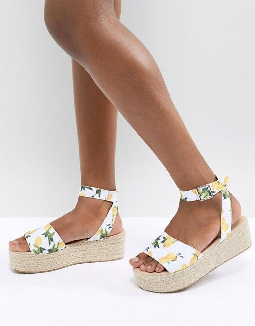 37c434e3a1 DESIGN Thear Espadrille Flatform Sandals in 2019 | Shoes ...