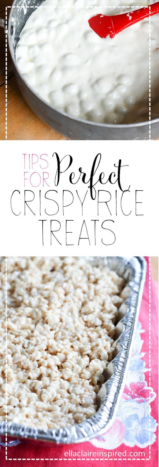Tips For The Perfect Crispy Rice Treats Vanilla Bun