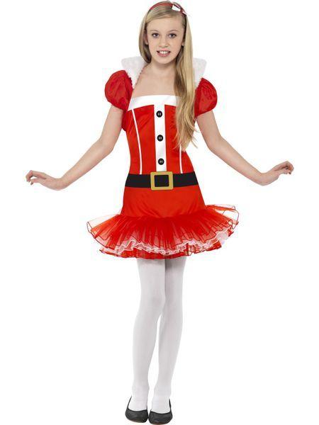 Lasten Naamiaisasu; Miss Joulutyttö. Joulu on taas, Joulu on taas, kattilat täynnä puuroo… #naamiaismaailma