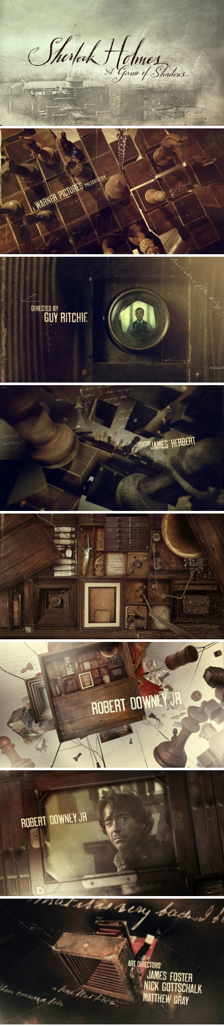 【90˚ Vision】The opening of Sherlock Holmes film made by Prologue