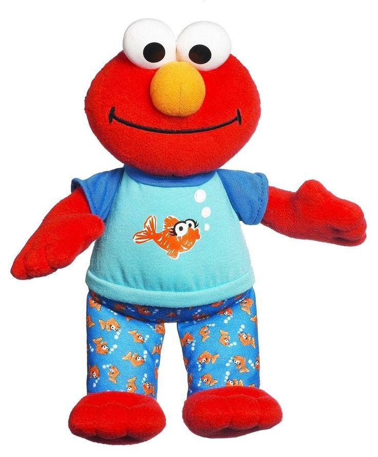 Sesame Street Playskool Lullaby Good Night Elmo Toy #SesameStreet