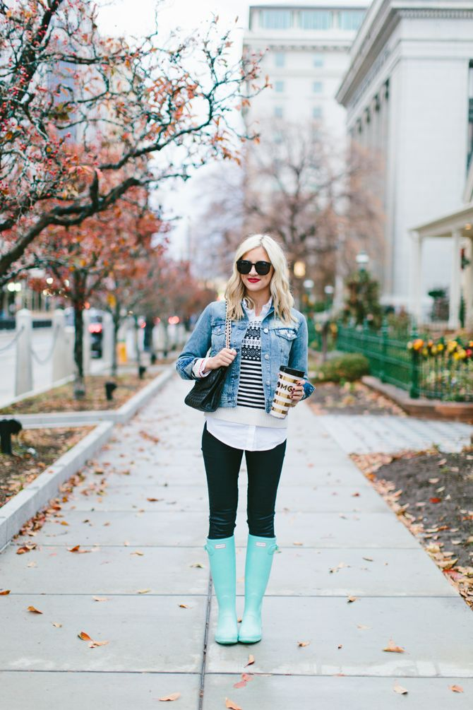 94 best Snow Boots and Rain Boots Outfit Ideas images on Pinterest ...