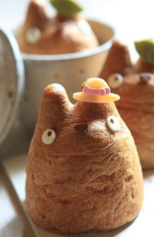 Cute little totoro rolls!