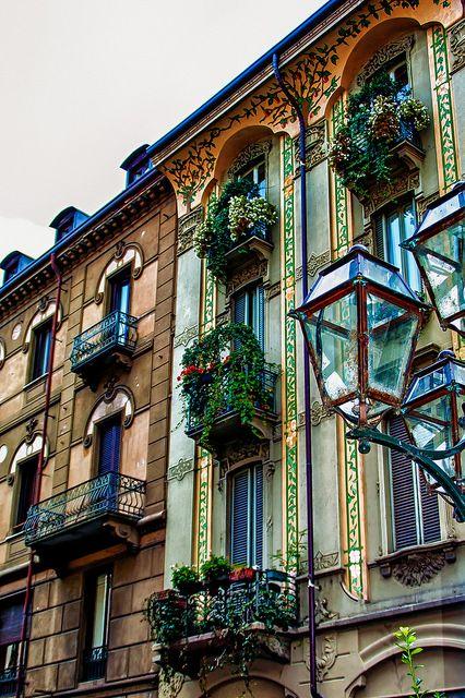Balcones en Turin