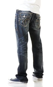 Rock Revival Steven Straight Leg jeans for men