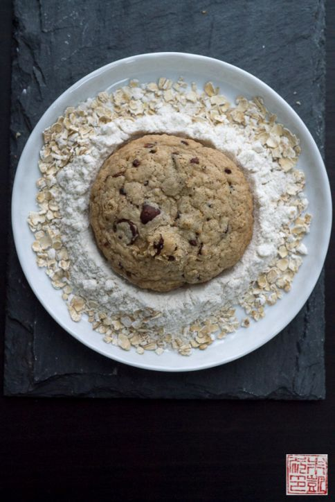... chocolate chip cookies (gluten free) - from Alice Medrich's Flavor