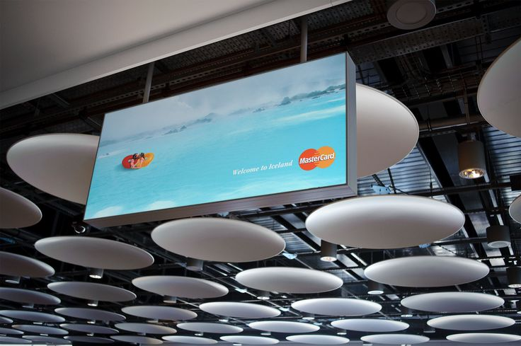 MasterCard poster - Welcome to Iceland