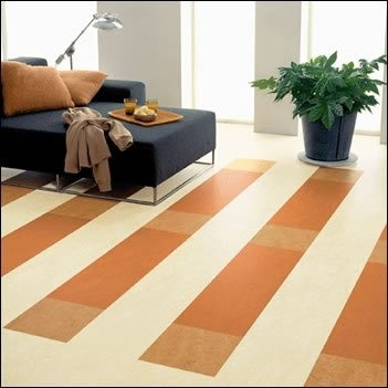 Beautiful Vinyl Tile for Basement Floor