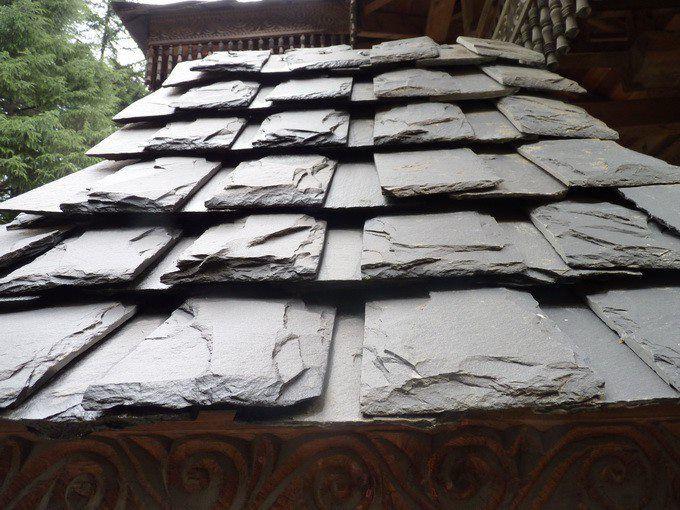 Гималайский кровельный сланец - Himachali slate roof