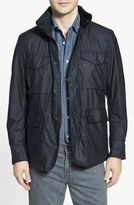 Men's Barbour 'Sapper' Tailored Fit Weatherproof Waxed Jacket