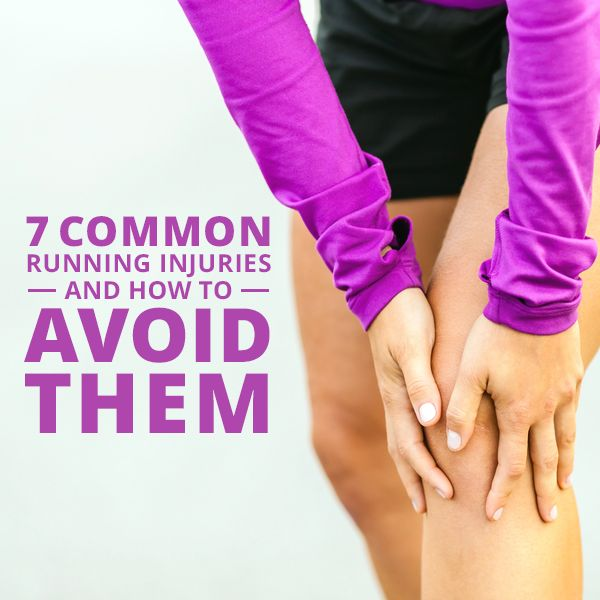 7 Common Running Injuries and How to Avoid Them #running #runninginjuries #injury