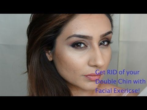 Facial Exercises To Tighten Chubby Cheeks, Lose Face Fat, Reduce Double Chin, And Tone Skin - YouTube