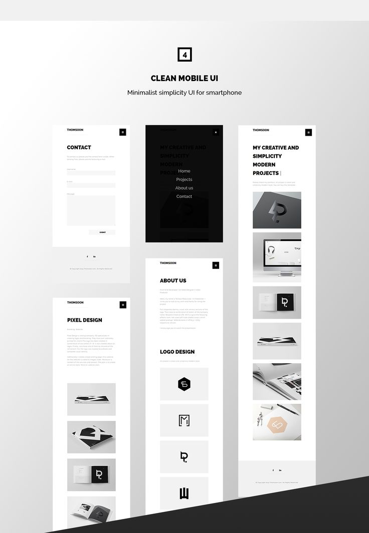 Free Responsive Portfolio White Clean template HTML5 and CSS3 DOWNLOADsupport: contact@thomsoon.com