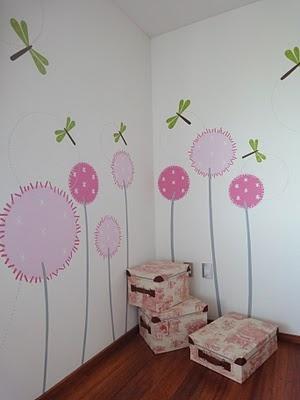 Marisol_entre libelulas y flores 2