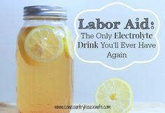 Labor Aid: The Only Electrolyte Drink You'll Ever Have Again