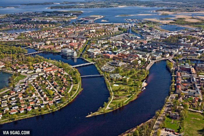 Karlstad, Sweden. B E A U T I F U L - 9GAG