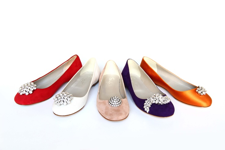 MIX BALLERINE    Shelight #shoes. Made with #Swarovski elements.
